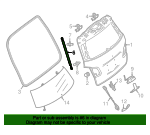 Lift Cylinder - Mercedes-Benz (242-980-06-64)