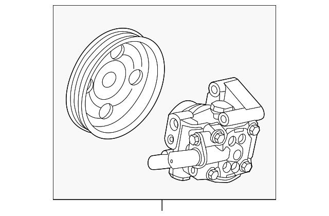 Power Steering Reservoir Cap Land Rover LR2 Genuine LR000758