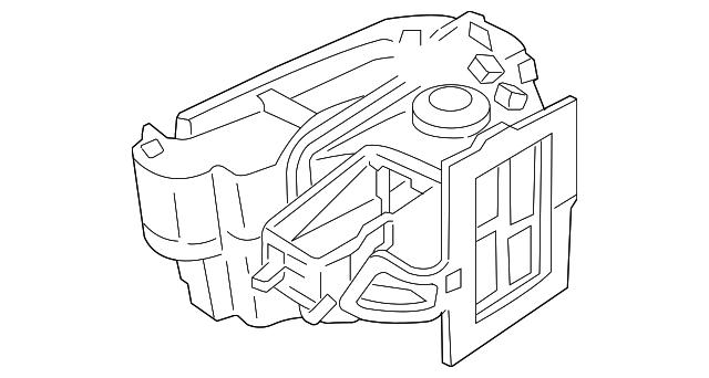 2002 2005 Dodge Neon Heater Case 5142554aa