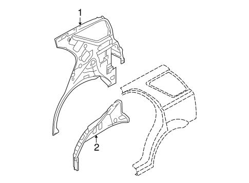Inner Structure For 2007 Kia Sorento