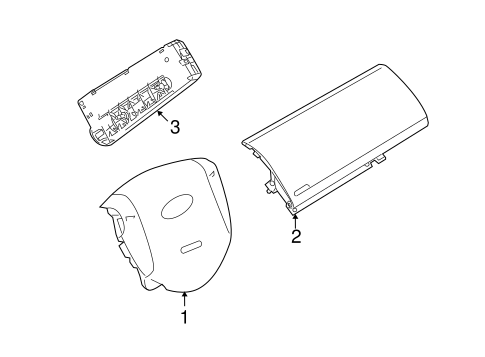 Air Bag Components For 2010 Ford Transit Connect