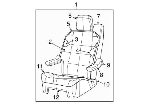 Second Row Seats For 2008 Dodge Grand Caravan