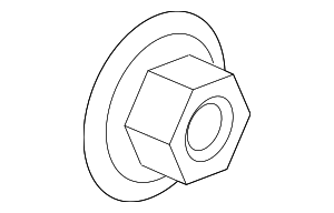 Axle Nut - GM (11612295)