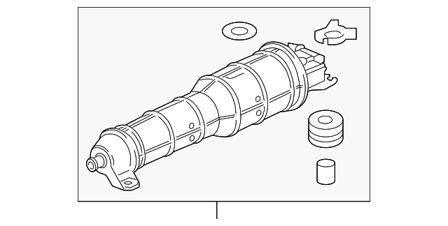 Genuine Honda 17315-T5R-A01 Canister Filter