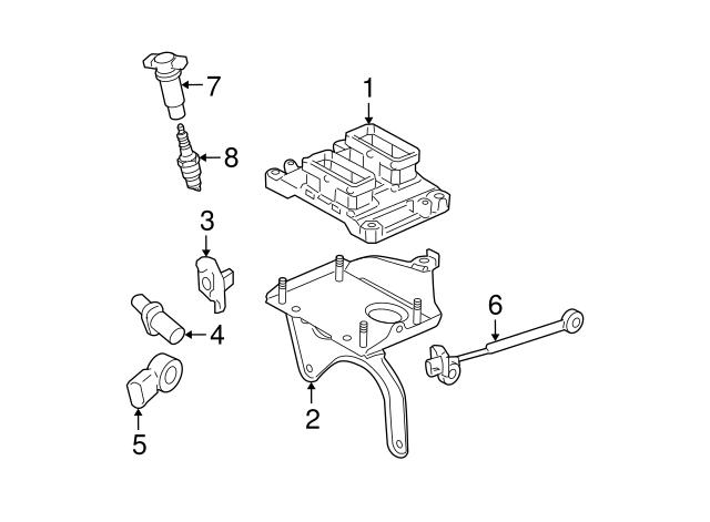 2004 Cadillac Cts Camshaft Position Sensor