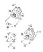 Alternator Bracket - Mopar (4627648AC)