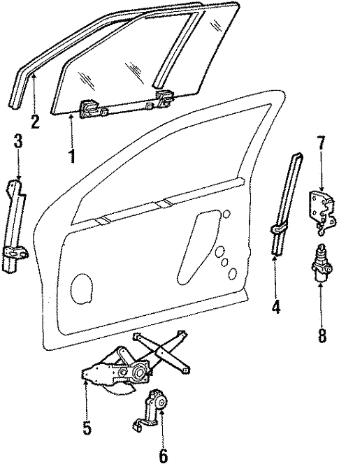 Hardware For 1987 Ford Thunderbird