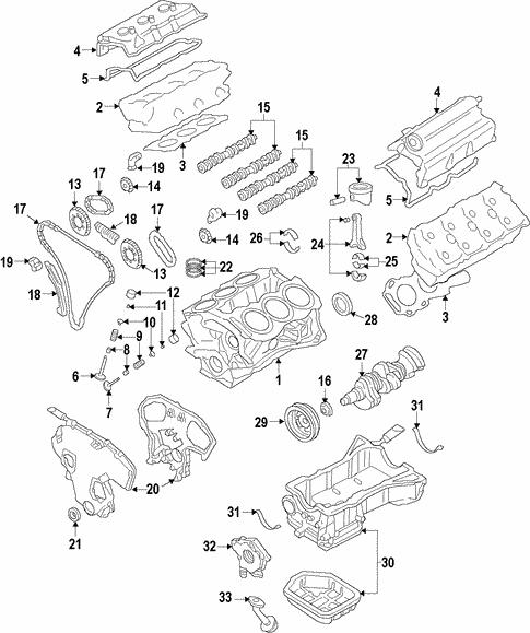 Engine For 2013 Infiniti Jx35