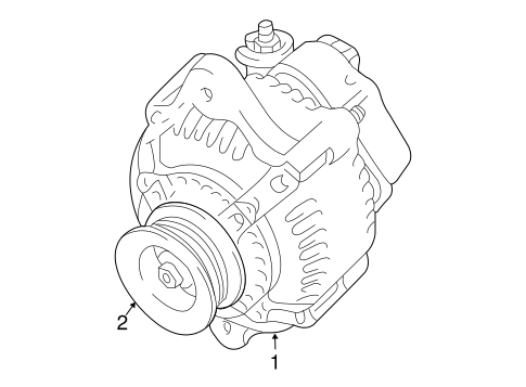 Genuine Oem Alternator Parts For 2016 Toyota 4runner Limited