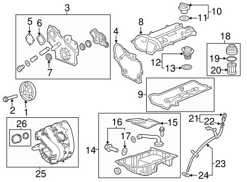 engine parts for 2013 chevrolet malibu. Black Bedroom Furniture Sets. Home Design Ideas