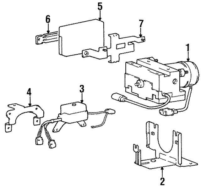 Genuine Hyundai 95691-22000 ABS Relay Box
