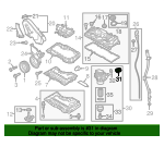 Oil Filter Housing Gasket - Volkswagen (03N-117-070)