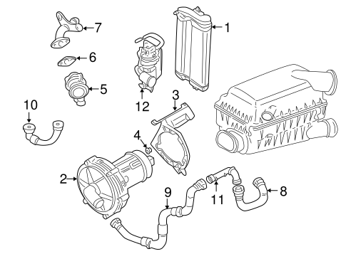 A I R System For 2002 Volkswagen Jetta