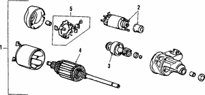 Gear Assembly, Pinion
