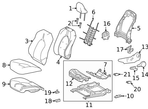 Toyota Genuine 71811-47080-B0 Seat Cushion Shield