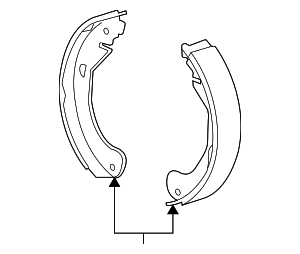 Brake Shoes - GM (18038582)