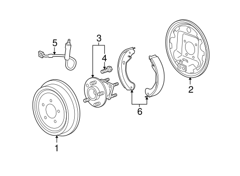 Brakes/Brake Components for 2006 Chevrolet Malibu #3