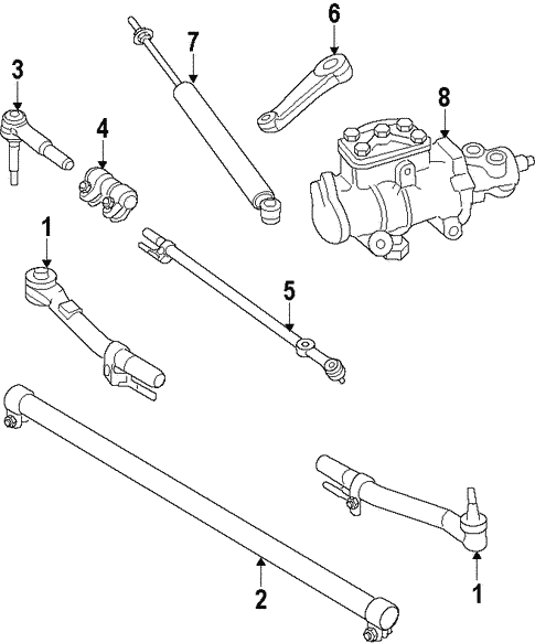 F250 Steering Diagram