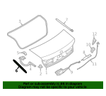 Deck Lid Lift Support - BMW (51-24-8-499-564)