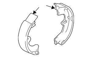 Brake Shoes - Toyota (04495-01040)