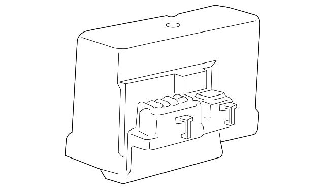 abs control unit repair kit