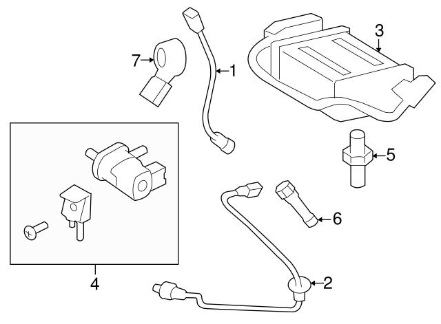 2009 2010 Pontiac Vibe Crankshaft Position Sensor 19204624