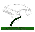 Roof Rail - Toyota (61213-20040)
