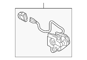 Actuator, L (Heated) - Honda (76260-SDA-A21)