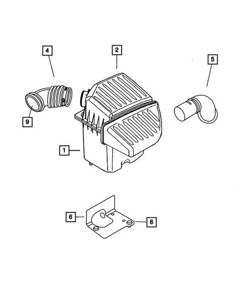 2001 chrysler pt cruiser wiring diagram air cleaner for 2001 chrysler pt cruiser thomas dodge parts  air cleaner for 2001 chrysler pt