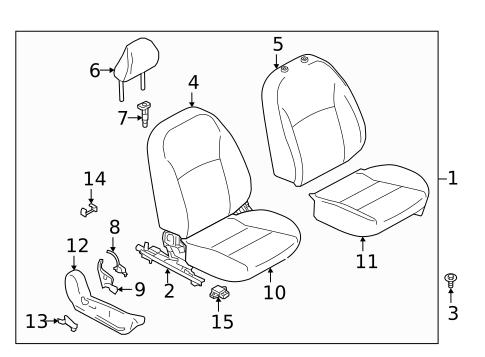 Car Radio System Components