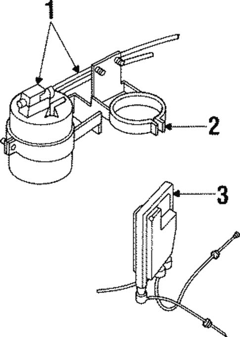 Fuel System Components For 1997 Land Rover Defender 90