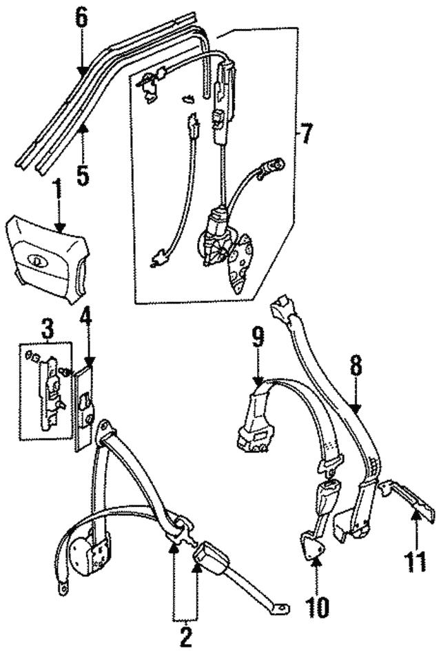 1988 1997 Jaguar Anchor Bcc2104