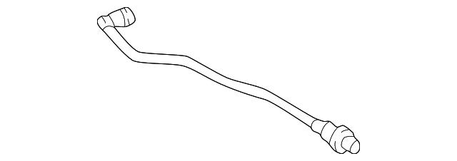 2000 2004 Toyota Mr2 Spyder Evaporator Tube 77027 17030