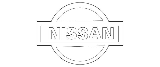 2004 2009 Nissan Quest Emblem 65890 5z000 Beeline Parts