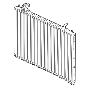 Radiator - Jaguar (T4A3255)