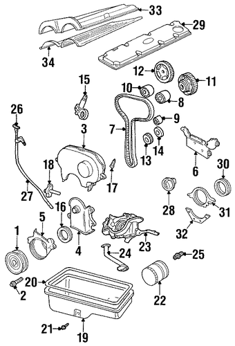 Powertrain Control For 1999 Ford Escort