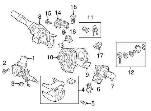 Keyless Entry Components For 2014 Subaru Brz