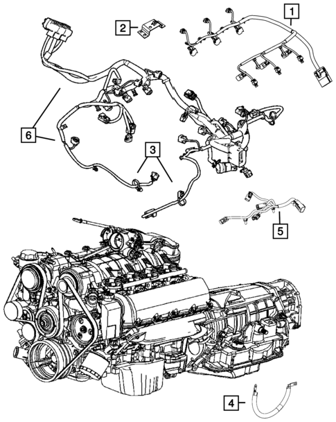 Wiring Powertrain For 2014 Jeep Grand Cherokee