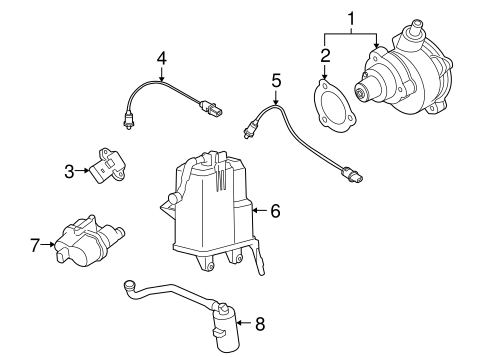 Emission Components For 2010 Bmw X6