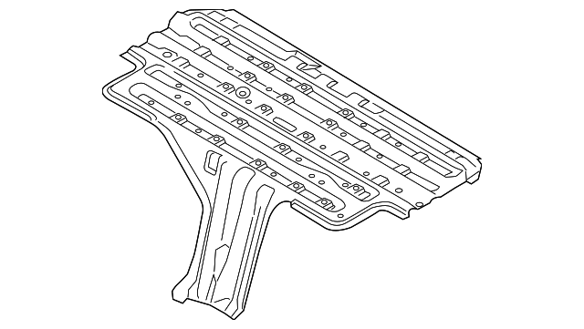 Genuine Ford Battery Cover Fv6z