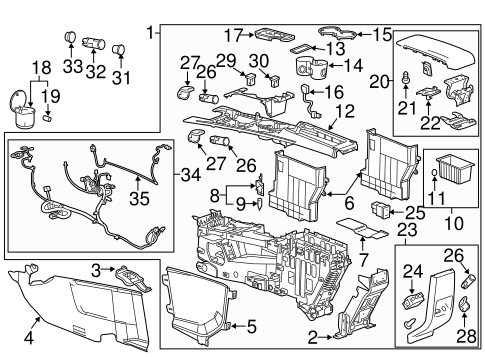 2011 Chevy Equinox Parts Diagram