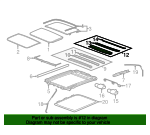 Sunroof Cover - GM (23144813)