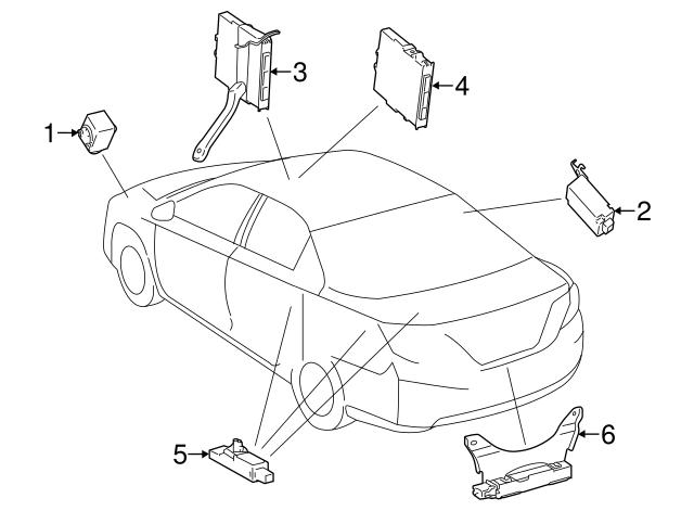 2012 2019 Toyota Antenna 899a0 06030