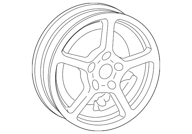 2017 2018 Porsche Wheel 982 601 025 M 8z8
