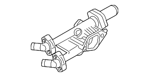 Thermostat Housing - Hyundai (25620-2GTA0)