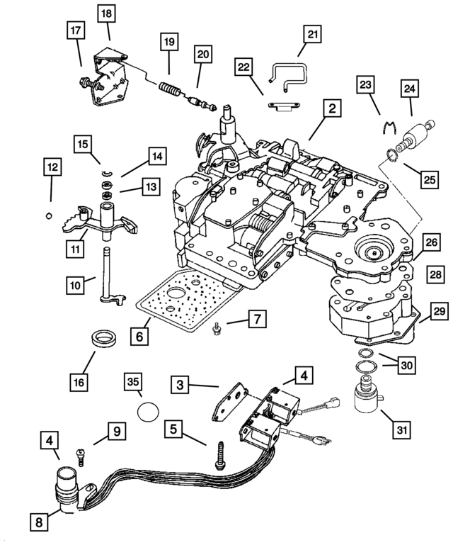 Manual Valve Diagram