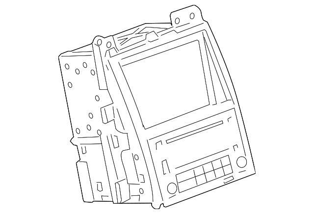 Display System Gm 20955278 Quirk Parts