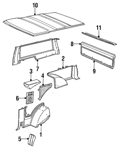 Here Is A Belt Diagram For A 1991 Chevrolet S10 43l Blazer Truck