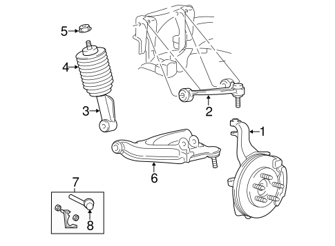 Suspension Components For 2004 Lincoln Navigator