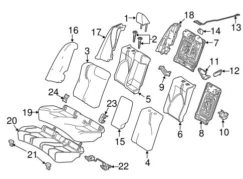 TOYOTA Genuine 71812-47070-B1 Seat Cushion Shield